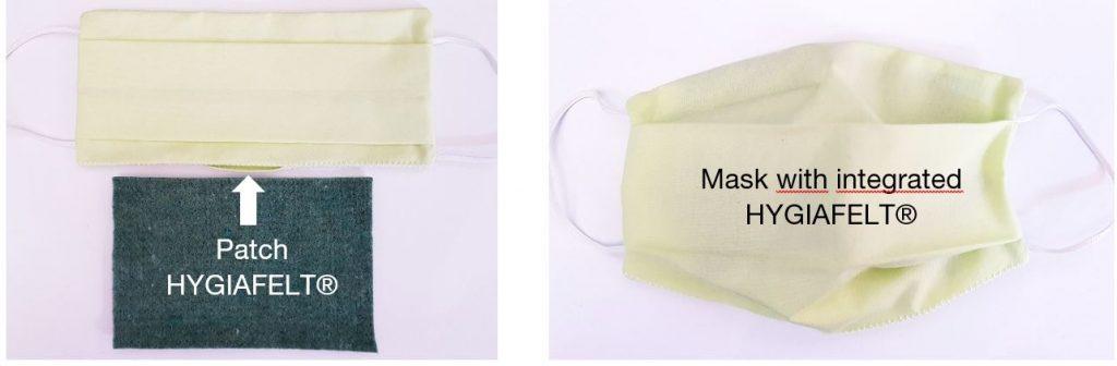 Mask model made by AJELIS according AFNOR standards (France)